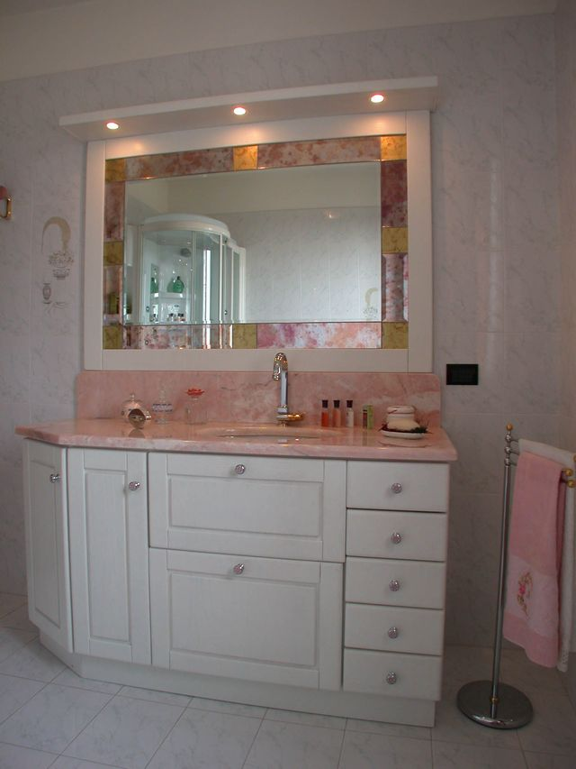 Mobile bagno in muratura simple mobili cucina finta - Bagno finta muratura ...