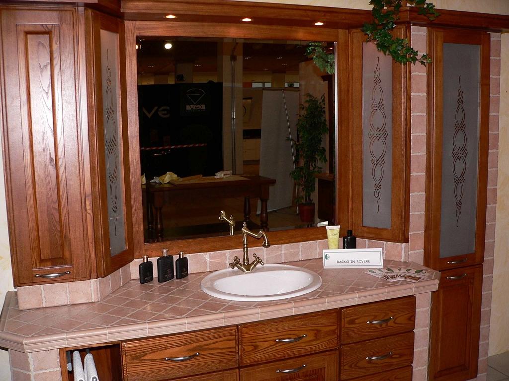 Bagno in muratura contado roberto group cucine e arredamenti su misura in legno - Mobile bagno in muratura ...
