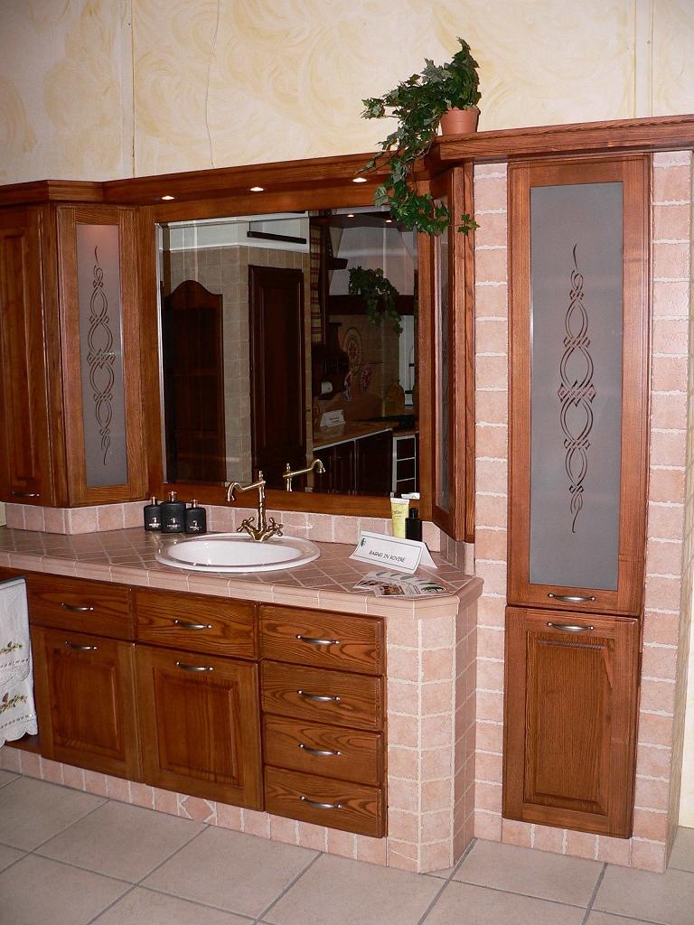 Bagno in muratura contado roberto group cucine e arredamenti su misura in legno - Idee mobili bagno ...