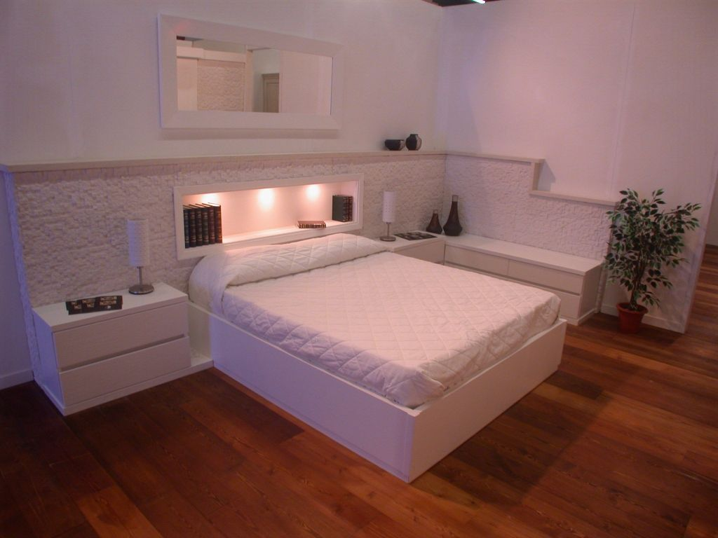 Camera da letto moderna con cabina armadio contado - Lube camere da letto ...