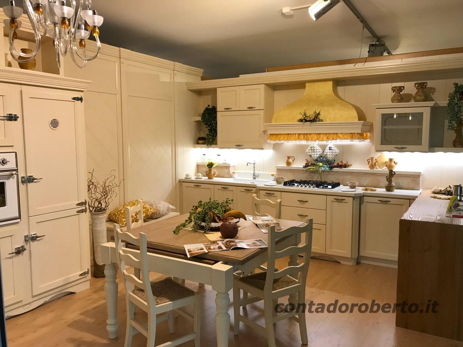 Cucina in Legno Country Chic | Contado Roberto Group ...