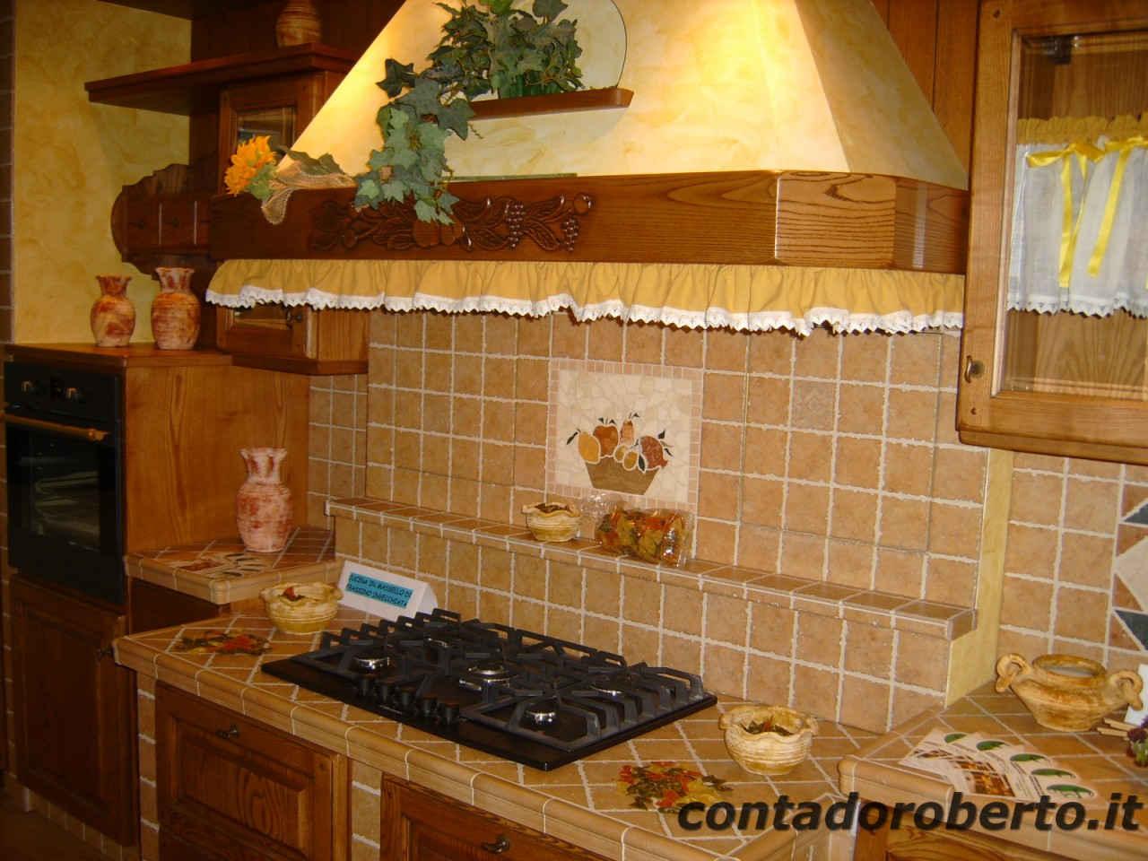 Cucina in muratura la contadina contado roberto group - Rivestimenti cucine in muratura ...