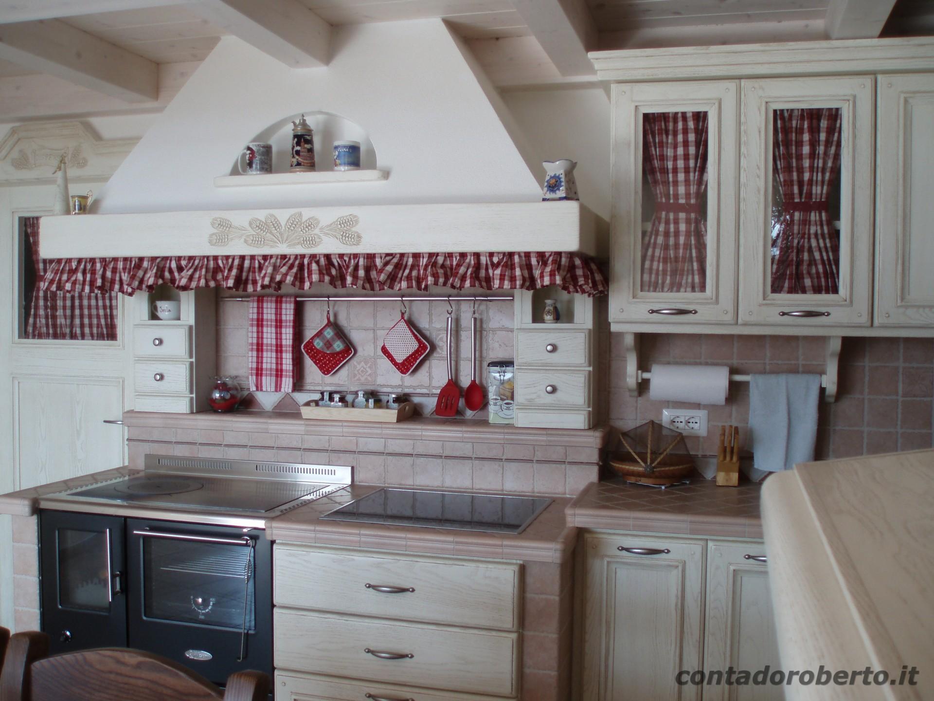 Angolo Cottura In Muratura : Cucina in muratura sotto soppalco contado roberto group cucine