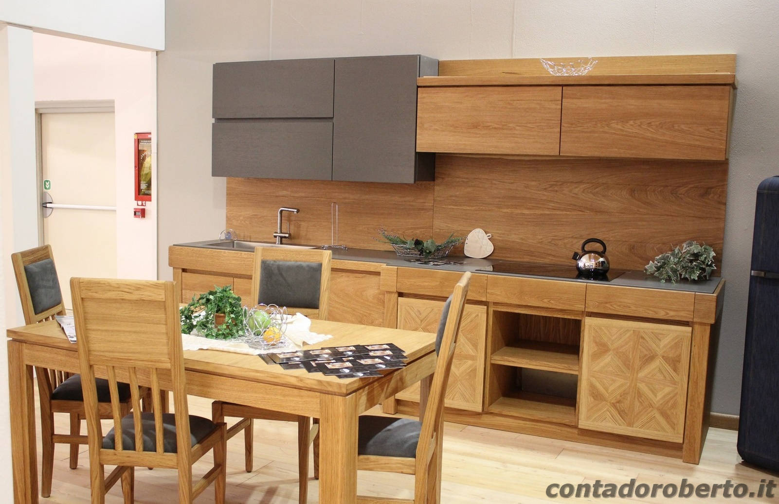 Emejing Cucine Rovere Naturale Images - Ideas & Design 2017 ...