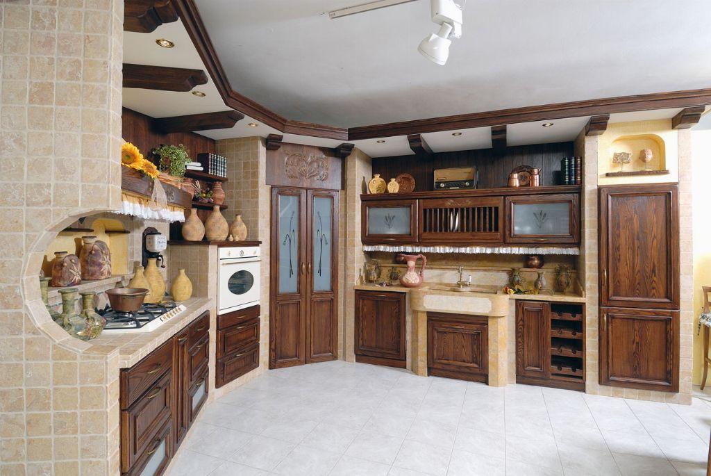 Cucina in Muratura Verona Affi Borgo Antico  Contado Roberto Group ...