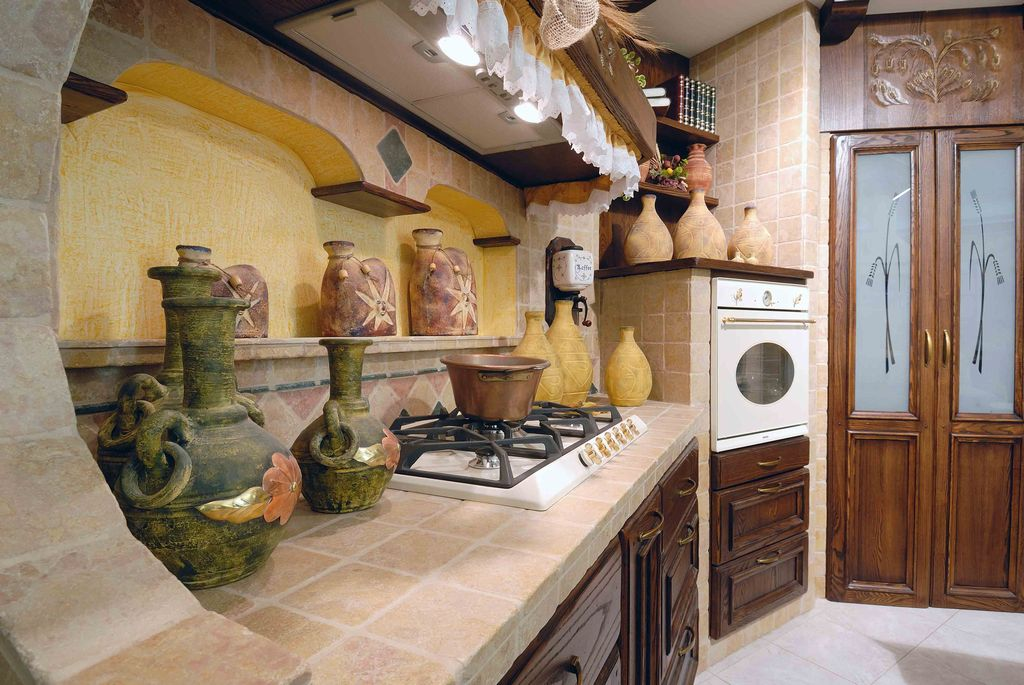 Cucina in muratura verona affi borgo antico contado for Quanto costa una cucina in muratura