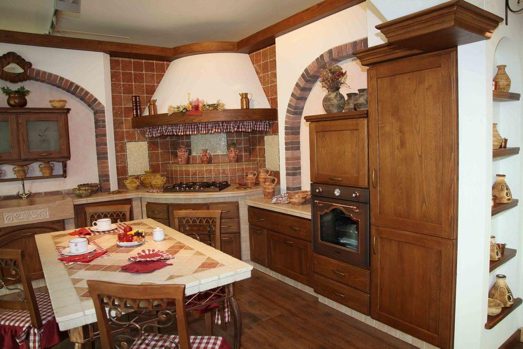 Cucina In Muratura Casolare Contado Roberto Group Cucine E Arredamenti Su Misura In Legno