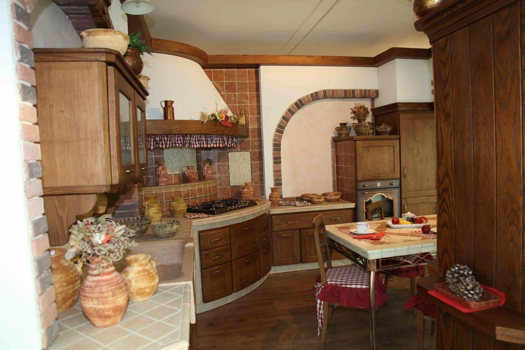 Cucina in Muratura Casolare | Contado Roberto Group | Cucine e ...