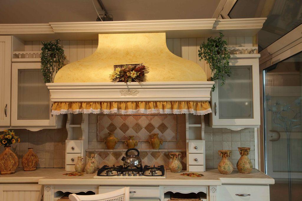 Cucina country fresia contado roberto group cucine e arredamenti su misura in legno - Cappe da cucina classiche ...