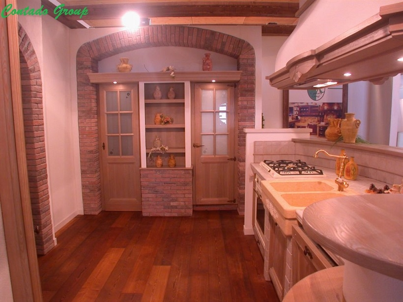 cucina la luminosa con isola | contado roberto group | cucine e ... - Cucina In Muratura Con Penisola