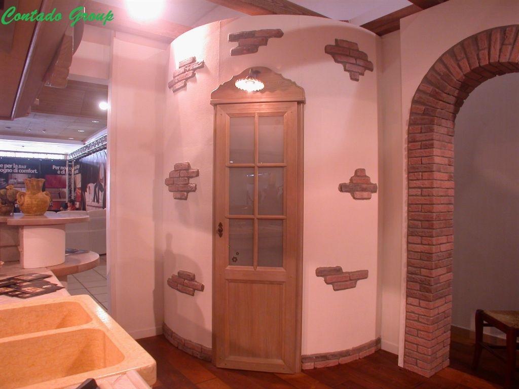 Home Cucine Cucine In Muratura Moderne Cucina La Luminosa Con Isola #BF3F0C 1024 768 Cucine Rustiche In Muratura Con Isola