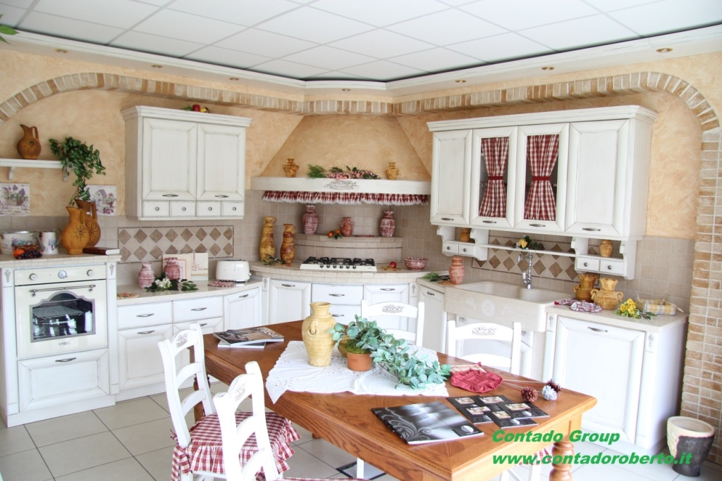 Cucina in Muratura Provenzale | Contado Roberto Group | Cucine e ...