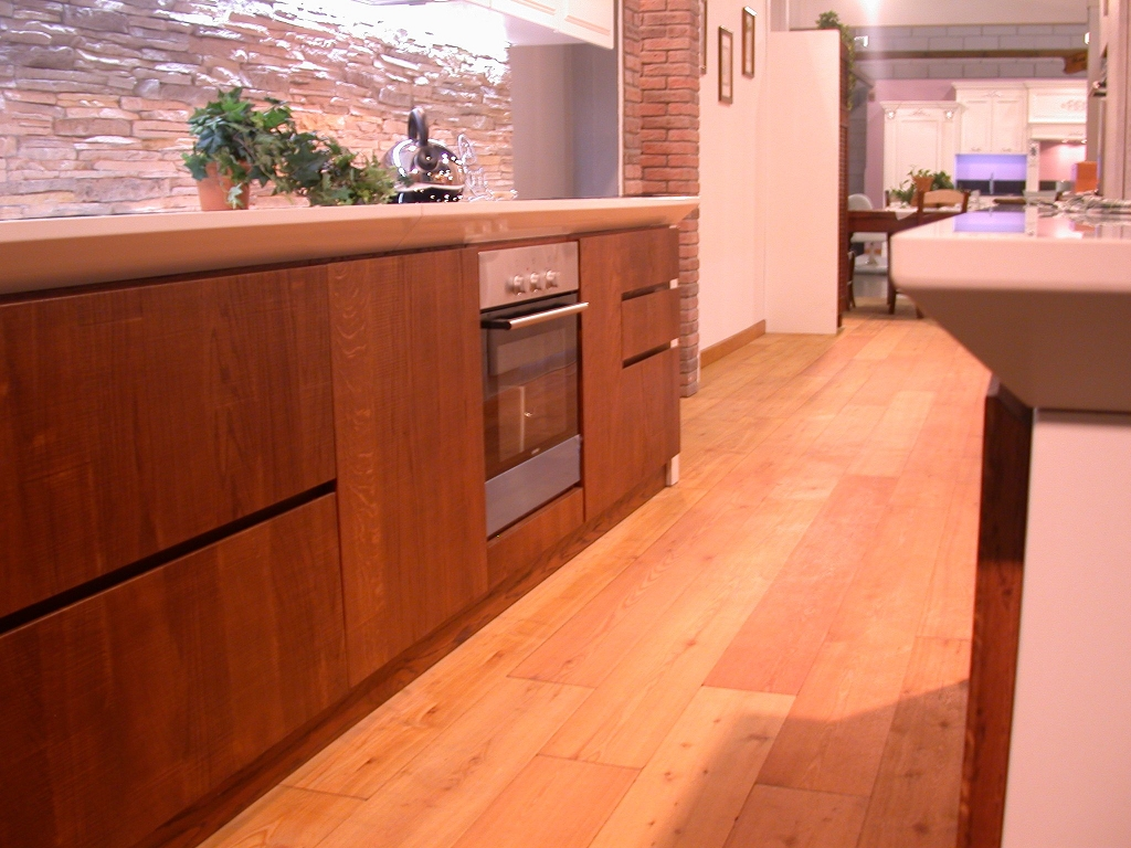 Cucina moderna fly contado roberto group cucine e - Cucine moderne bicolore ...