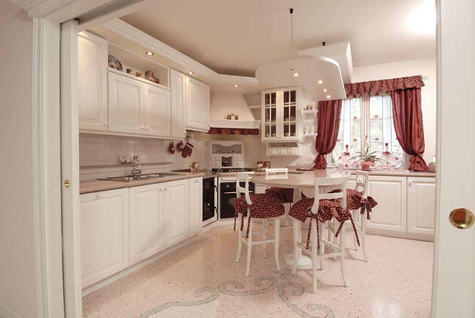 cucina romantica | contado roberto group | cucine e arredamenti su ... - Cucine Rosa