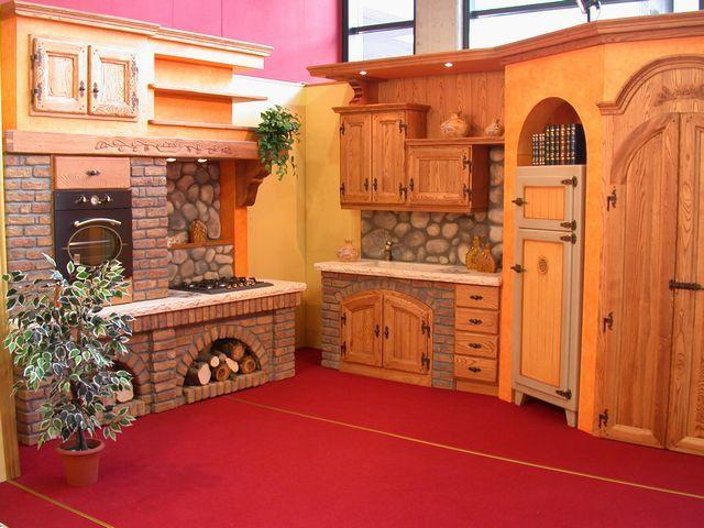 Cucina in muratura baita contado roberto group cucine - Mobili rustici per cucina ...