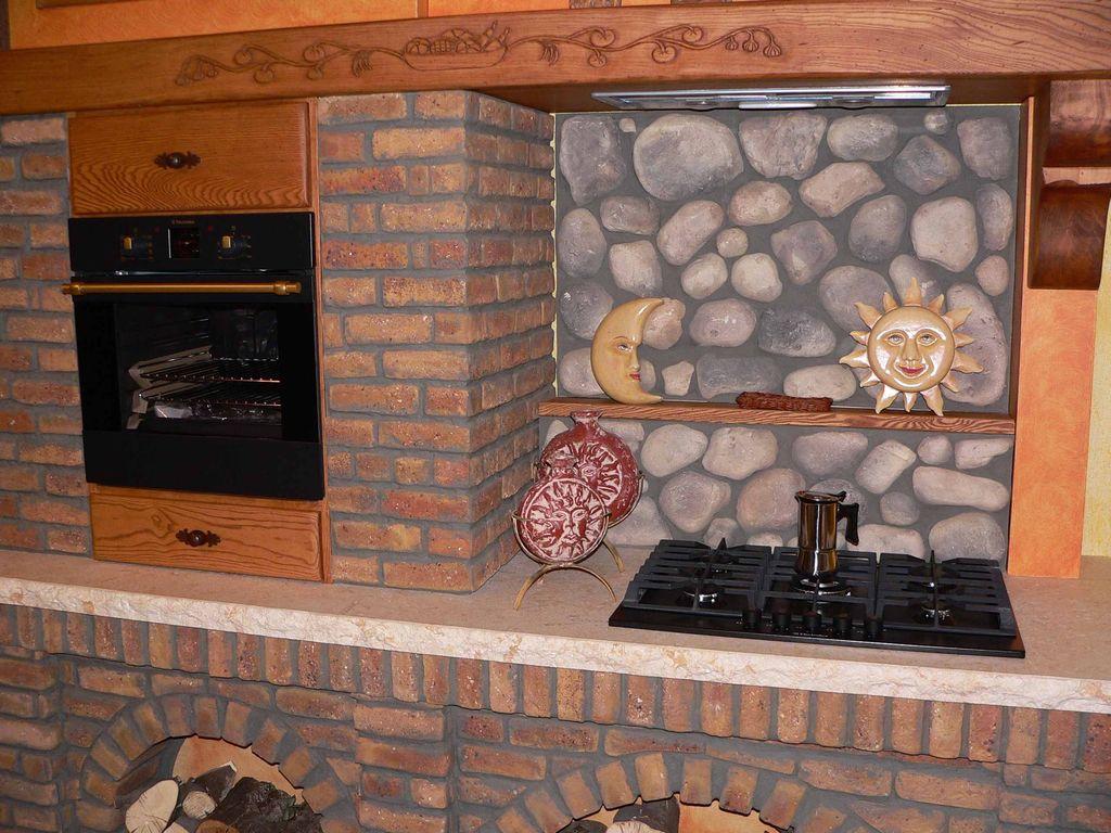 Cucina in muratura baita contado roberto group cucine - Cucina rustica in pietra ...