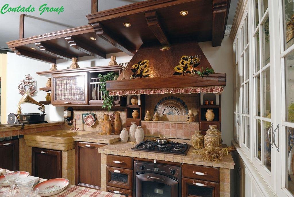 Cucina in muratura vecchio casale contado roberto group - Cucine per taverna ...