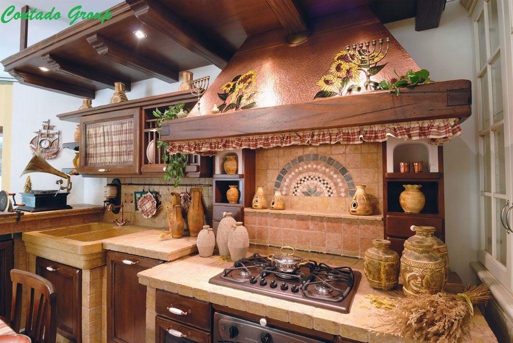 Cucina in Muratura Vecchio Casale | Contado Roberto Group | Cucine ...