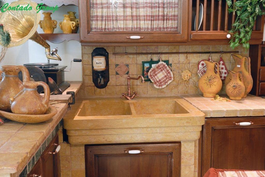 Estremamente Cucina in Muratura Vecchio Casale   Contado Roberto Group   Cucine  AN06
