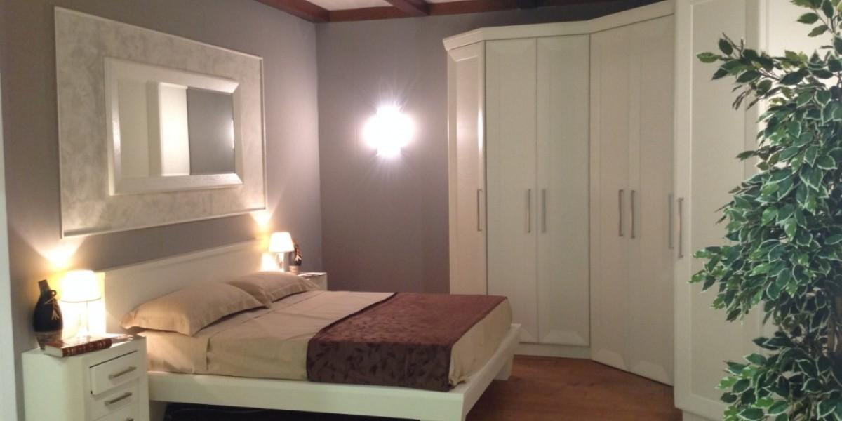 Camera da letto con cabina armadio ad angolo contado for Armadio camera letto